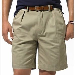 Polo by Ralph Lauren Tyler short pleated men's 34